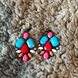 Jewelry - Bright Statement Earrings